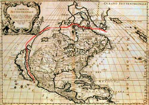 """Η περίφημη """"Οδός του Ανιάν"""", η οποία συνέδεε τον Ειρηνικό με τον Ατλαντικό Ωκεανό"""