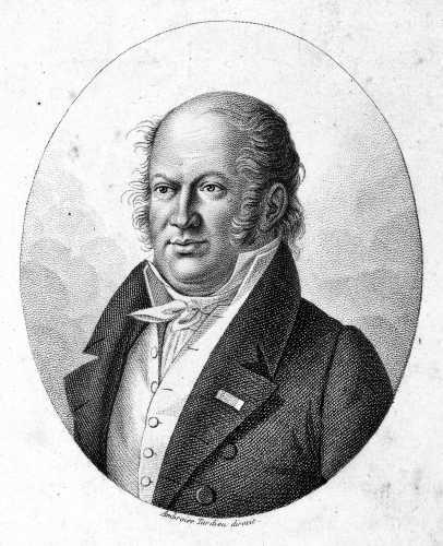 Etienne Geoffroy Saint-Hilaire (15/04/1772 - 19/06/1844)