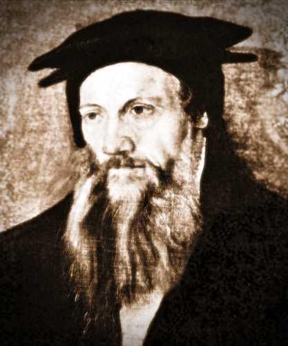 Conrad Gessner (26/03/1516 - 13/12/1565)
