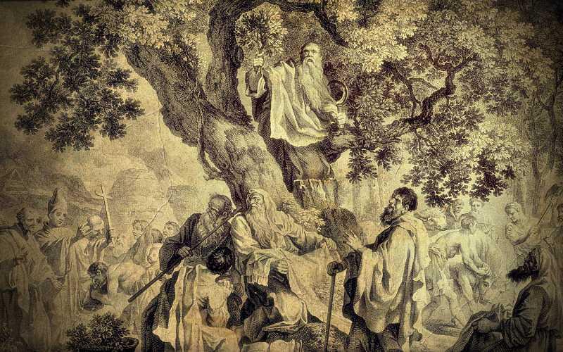 Οι μυστηριώδεις Δρυΐδες της κελτικής παράδοσης…