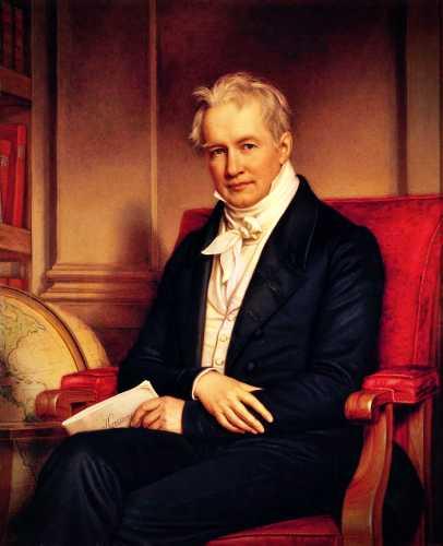 Alexander von Humboldt (14/09/1769 - 06/05/1859)