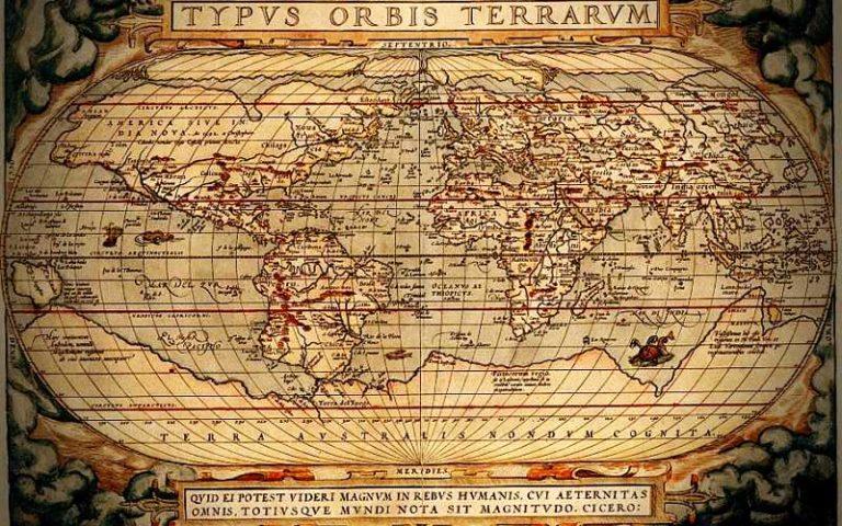 Η χαμένη ήπειρος Terra Australis...