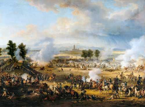 """""""Η Μάχη του Μαρένγκο"""", πίνακας του Γάλλου ζωγράφου Louis-Francois Lejeune (03/02/1775 - 29/02/1848)"""