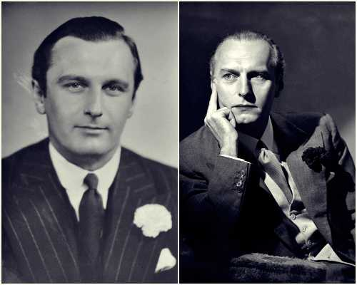 Οι γιοι του Sir Arthur Conan Doyle, αριστερά ο Denis Percy (17/03/1909 - 09/03/1955) και δεξιά ο Adrian Malcolm (19/11/1910 - 03/06/1970)