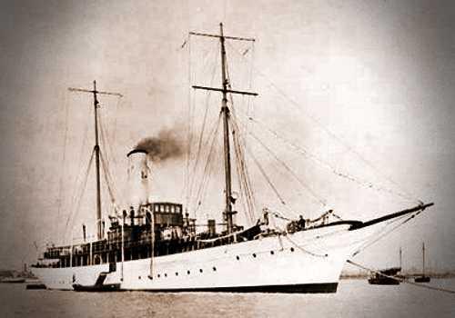 """Η θαλαμηγός του Guglielmo Marconi, """"Elettra"""""""