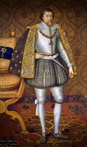 Ο Βασιλιάς Ιάκωβος Α' και ΣΤ' της Αγγλίας και της Σκωτίας (19/06/1566 - 27/03/1625)