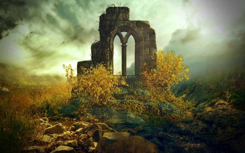 Το μέντιουμ με τη μαγική ράβδο, που ανακάλυψε μια αρχαία πόλη…
