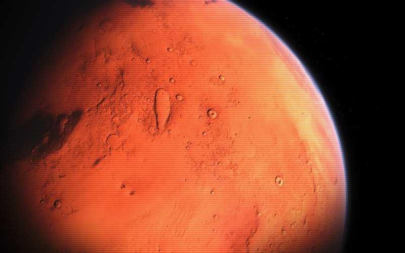 Κολοσσιαία έργα διανοούμενων όντων στον Άρη;