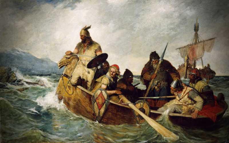 """Η ανακάλυψη της Αμερικής από τους Βίκινγκς και η """"Σάγκα της Βινλανδίας""""..."""