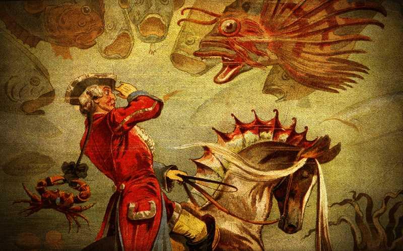 Οι ευφάνταστες περιπέτειες του πολυμήχανου Βαρόνου Μινχάουζεν...