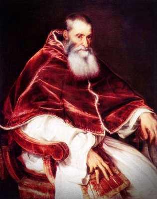 Πάπας Παύλος Γ΄ (29/02/1468 - 10/11/1549)