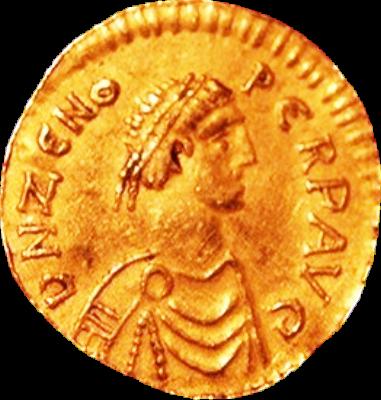 Αυτοκράτορας Ζήνων (425 μ.Χ. - 491 μ.Χ.)