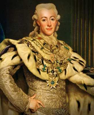 Γουσταύος Γ' της Σουηδίας (24/01/1746 - 29/03/1792)