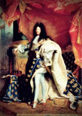 Λουδοβίκος ΙΔ΄ της Γαλλίας (05/09/1638 - 01/09/1715)