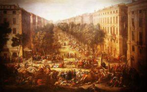 """Ο """"Μαύρος Θάνατος"""" στη Μασσαλία, το 1720..."""