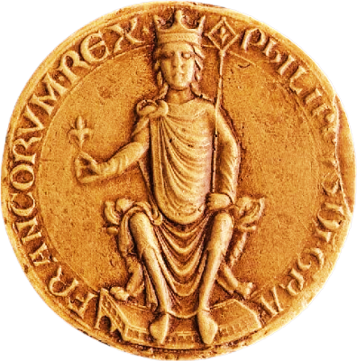 Φίλιππος Β΄ της Γαλλίας (21/08/1165 - 14/07/1223)