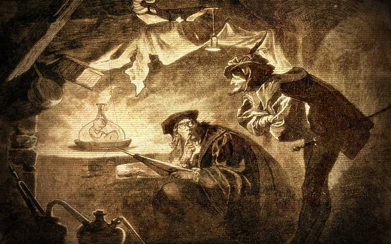 Η συμφωνία του Φάουστ με τον Διάβολο...