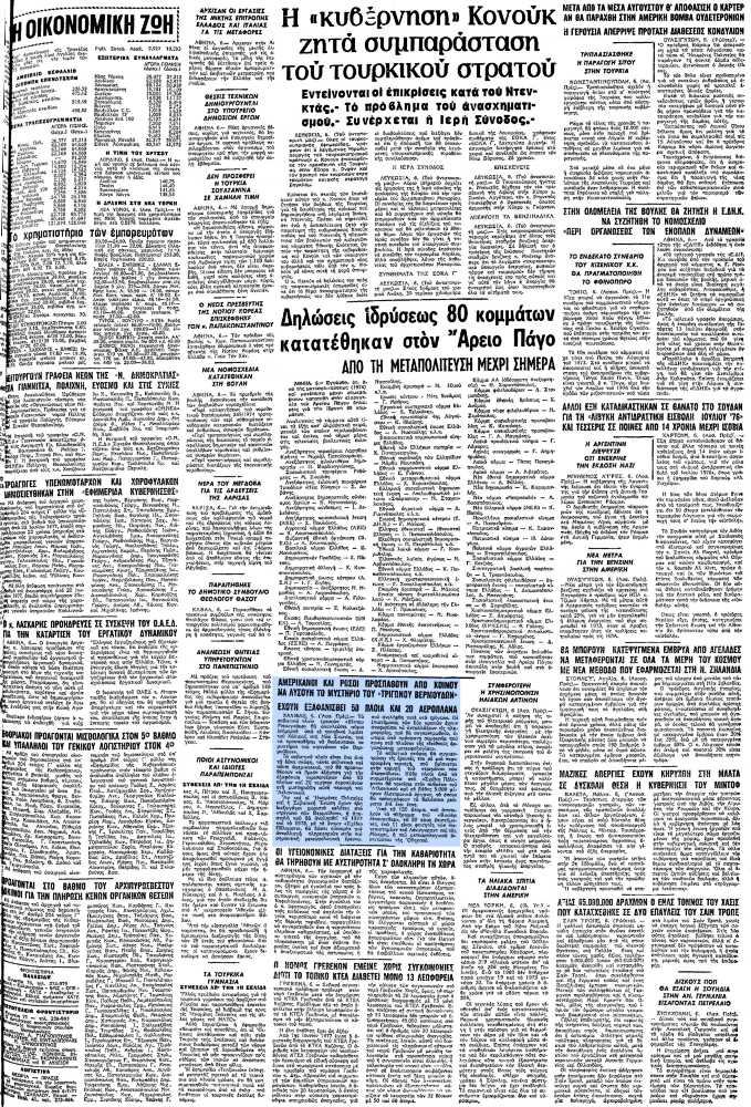 """Το άρθρο, όπως δημοσιεύθηκε στην εφημερίδα """"ΜΑΚΕΔΟΝΙΑ"""", στις 07/07/1977"""