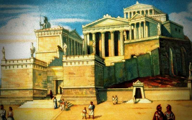 Η ζωή στην αρχαία Αθήνα…