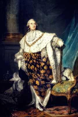 Λουδοβίκος ΙΣΤ (23/08/1754 - 21/01/1793)