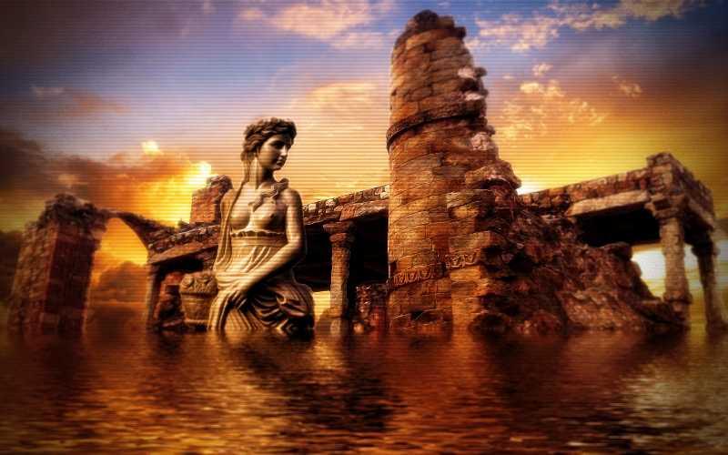 Η θεωρία για τη σχέση μεταξύ Ατλαντίδας και Μινωικού Πολιτισμού...