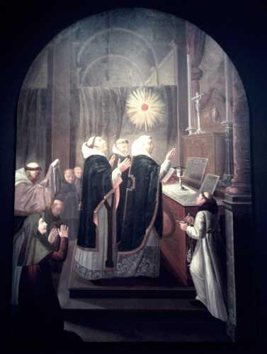 """""""Η Λειτουργία του Αγίου Μαρτίνου"""", πίνακας του Γάλλου ζωγράφου Eustache Le Sueur"""