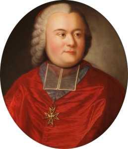 Καρδινάλιος Francois de Bernis (22/05/1715 - 03/11/1794)